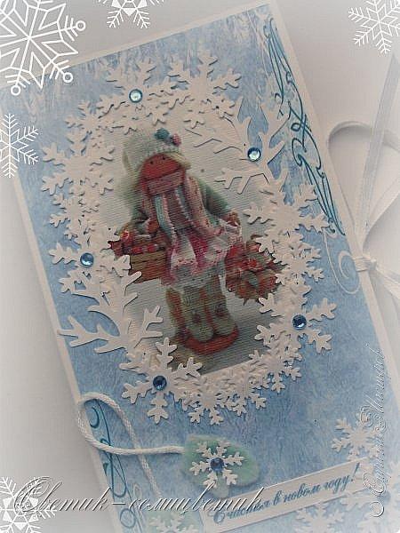 Покажу последние шоколадницы прошлого года и попрощаюсь с Новогодними праздниками:) До свидания, Новый год! Фотографии серые, но поверьте мне на слово: первые две - очень нежные, а третья яркая:)  фото 6