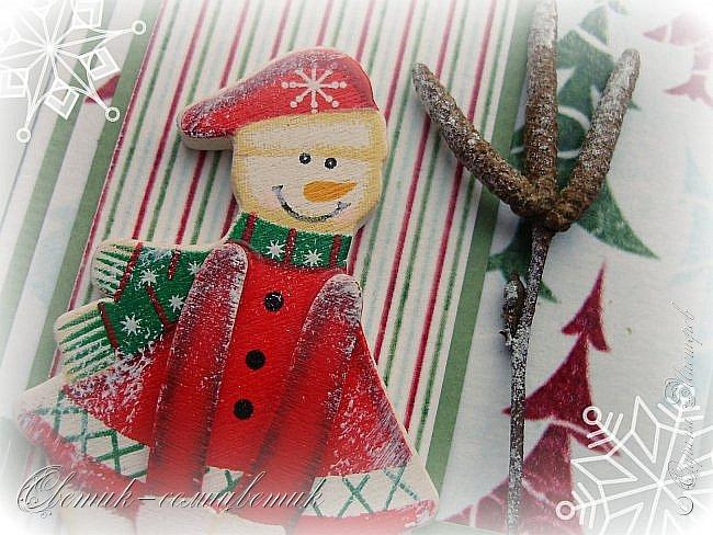 Покажу последние шоколадницы прошлого года и попрощаюсь с Новогодними праздниками:) До свидания, Новый год! Фотографии серые, но поверьте мне на слово: первые две - очень нежные, а третья яркая:)  фото 17