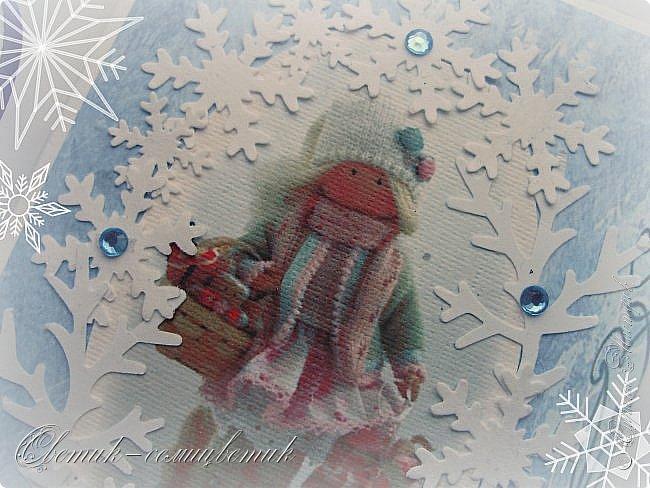 Покажу последние шоколадницы прошлого года и попрощаюсь с Новогодними праздниками:) До свидания, Новый год! Фотографии серые, но поверьте мне на слово: первые две - очень нежные, а третья яркая:)  фото 7