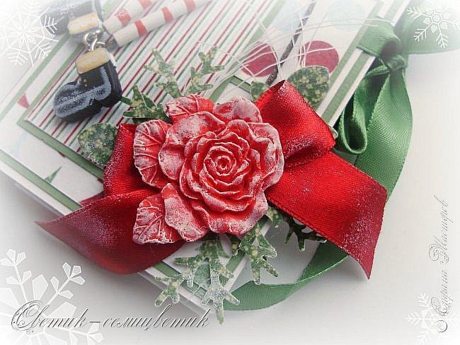 Покажу последние шоколадницы прошлого года и попрощаюсь с Новогодними праздниками:) До свидания, Новый год! Фотографии серые, но поверьте мне на слово: первые две - очень нежные, а третья яркая:)  фото 18