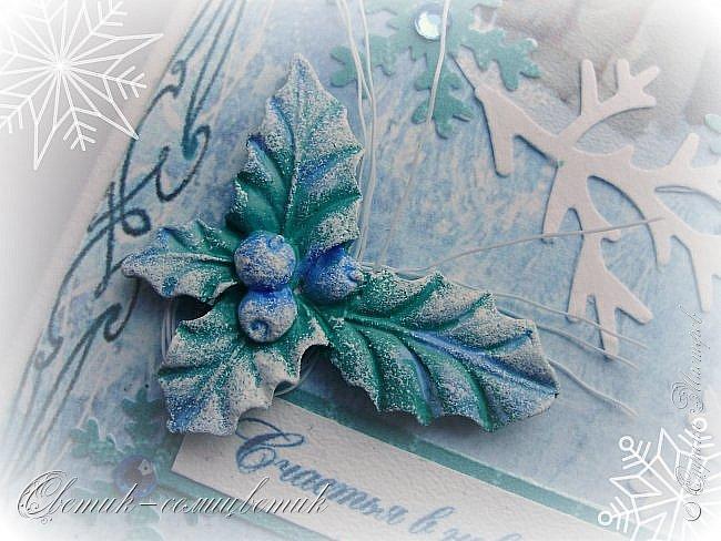Покажу последние шоколадницы прошлого года и попрощаюсь с Новогодними праздниками:) До свидания, Новый год! Фотографии серые, но поверьте мне на слово: первые две - очень нежные, а третья яркая:)  фото 14
