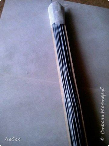 Мастер-класс Плетение Продолжение мастер класса Ажурные крышки Овальные формы Трубочки бумажные фото 7