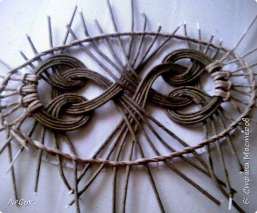 Мастер-класс Плетение Продолжение мастер класса Ажурные крышки Овальные формы Трубочки бумажные фото 4