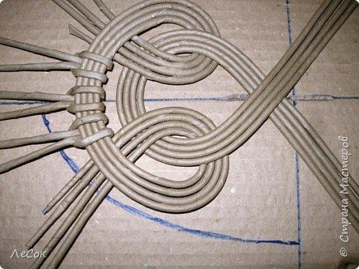 Мастер-класс Плетение Продолжение мастер класса Ажурные крышки Овальные формы Трубочки бумажные фото 16