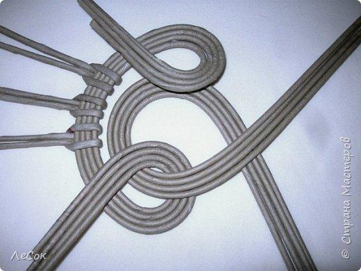 Мастер-класс Плетение Продолжение мастер класса Ажурные крышки Овальные формы Трубочки бумажные фото 10