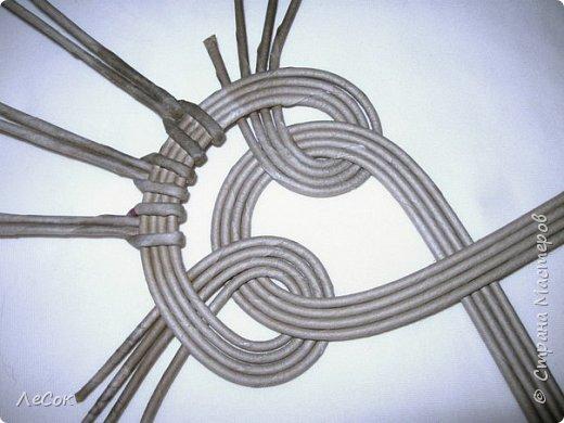Мастер-класс Плетение Продолжение мастер класса Ажурные крышки Овальные формы Трубочки бумажные фото 13