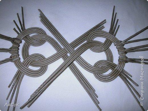 Мастер-класс Плетение Продолжение мастер класса Ажурные крышки Овальные формы Трубочки бумажные фото 14