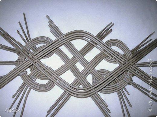 Мастер-класс Плетение Продолжение мастер класса Ажурные крышки Овальные формы Трубочки бумажные фото 15