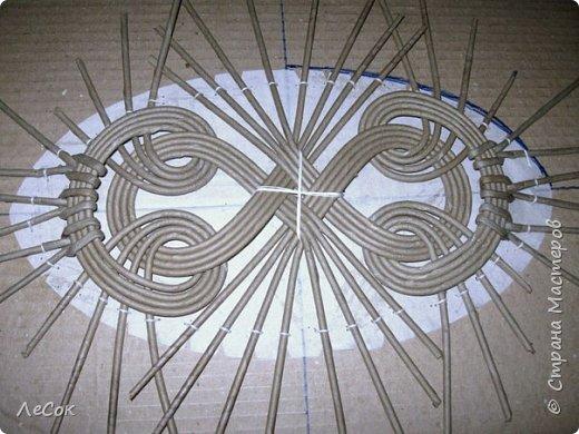 Ажурное плетение из газетных трубочек мастер класс видео
