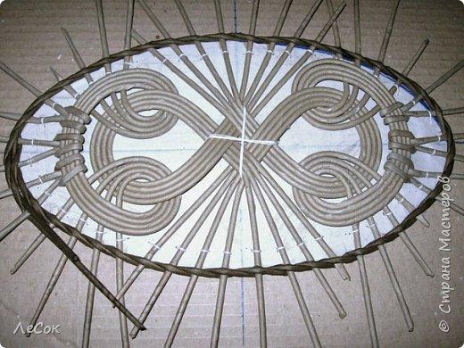 Мастер-класс Плетение Продолжение мастер класса Ажурные крышки Овальные формы Трубочки бумажные фото 19
