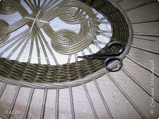 Мастер-класс Плетение Продолжение мастер класса Ажурные крышки Овальные формы Трубочки бумажные фото 21
