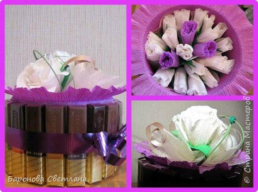 букет из конфет фото 7