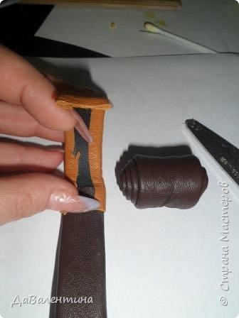 Мастер-класс Коллаж Картины из натуральной кожи Мастер-класс Кожа фото 22