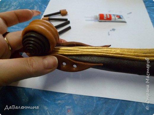 Мастер-класс Коллаж Картины из натуральной кожи Мастер-класс Кожа фото 43