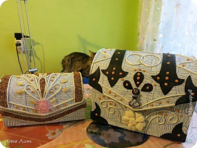 Приветствую вас,жители!Заказали мне свадебный сундук под старину.Свадьба должно быть будет в духе средневековья. фото 6