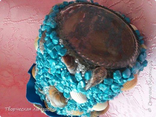 Здравствуйте , хочу похвастаться своей морской копилкой которую сотворила на ночь глядя)) фото 2
