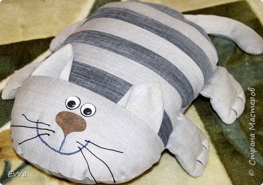 Подушка-кот своими руками мастер класс