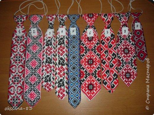 Вышивка Вишиті галстуки