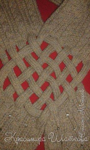 Шляпа и шарф фото 3