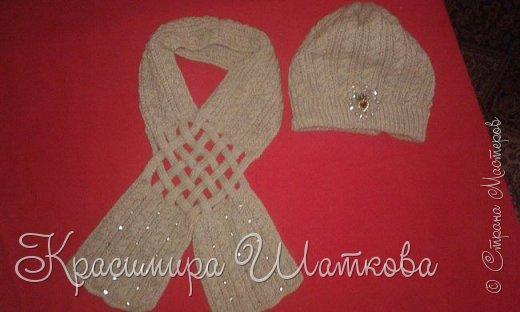 Шляпа и шарф фото 1