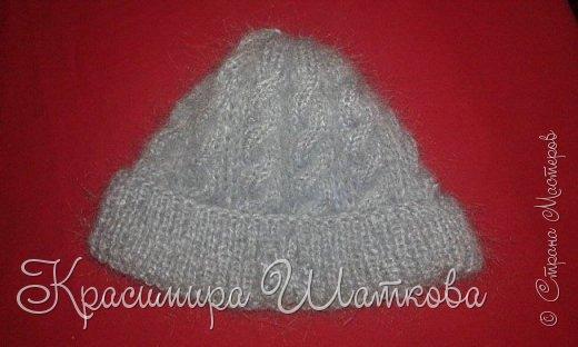 Шляпа и шарф фото 4