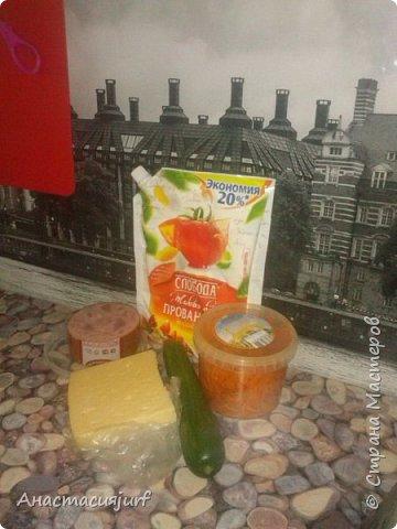 Салат с ветчиной и корейской морковкой фото 2