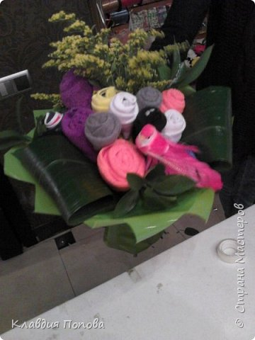 Букет из носков и трусов :) фото 1