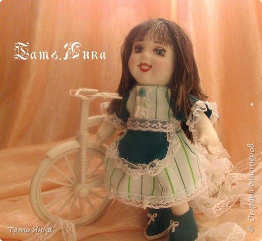 мои первые текстильные куколки фото 3