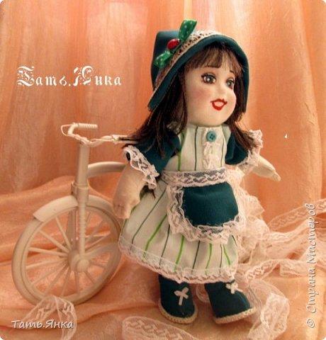 мои первые текстильные куколки фото 1