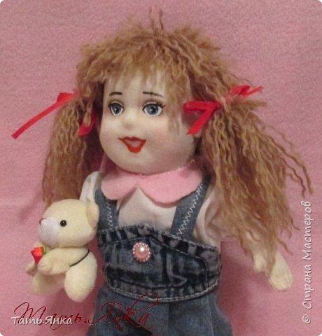 мои первые текстильные куколки фото 5