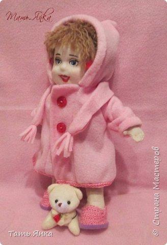 мои первые текстильные куколки фото 6