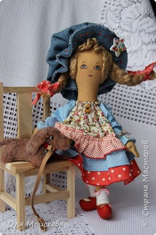 "Шалунья( куколка из серии"" Детство"") фото 3"