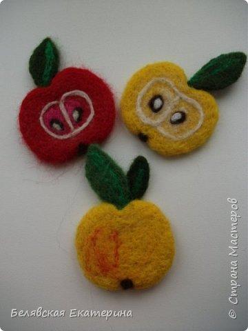 Магниты «Яблочки» фото 1