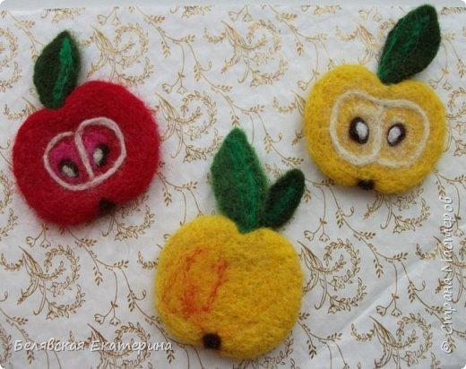 Магниты «Яблочки» фото 2