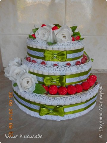 Торт из конфет фото 1