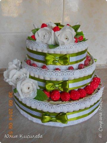 Торт из конфет фото 3