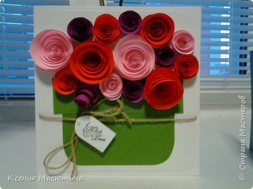 Цветы-спиральки фото 1