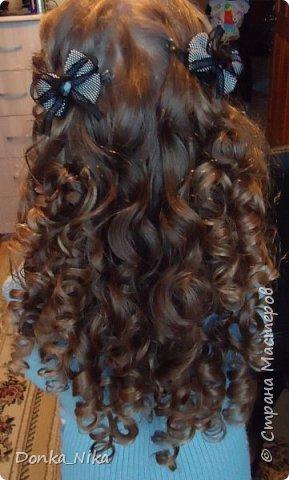 бантики из волос фото 4