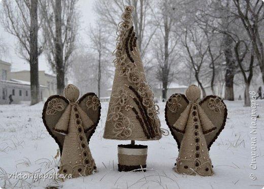 """Работа """"Ангелы """"была выполнена ученицей 10 класса Новиковой Анастасией  фото 3"""