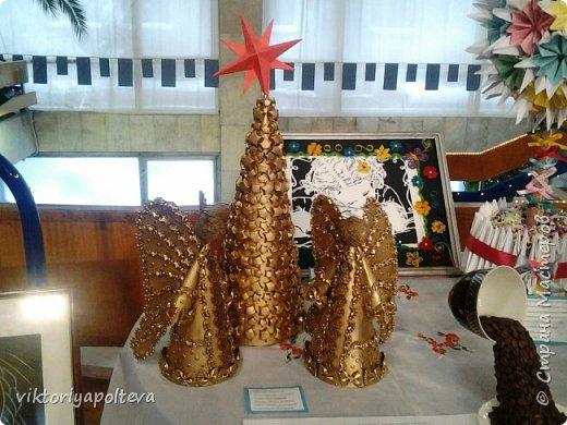 """Работа """"Ангелы """"была выполнена ученицей 10 класса Новиковой Анастасией  фото 5"""