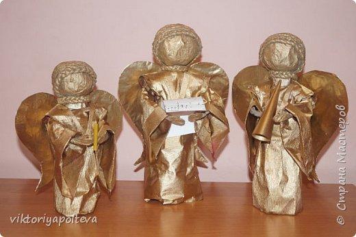 """Работа """"Ангелы """"была выполнена ученицей 10 класса Новиковой Анастасией  фото 1"""