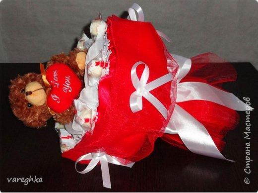 корзинка с розами из лент(душистая) фото 10