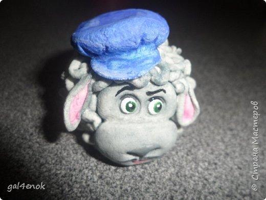 Вот такая отара овец раздарилась к Новому году( просто с опозданием выставляю) фото 6