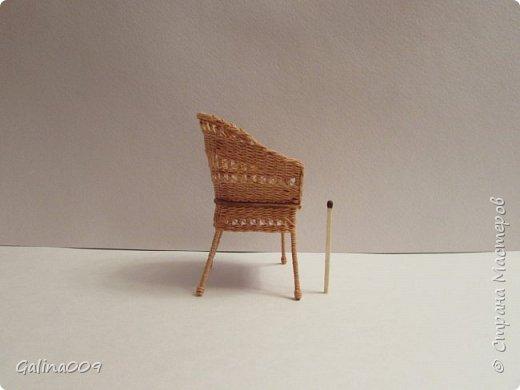 Кресло плетёное. фото 2