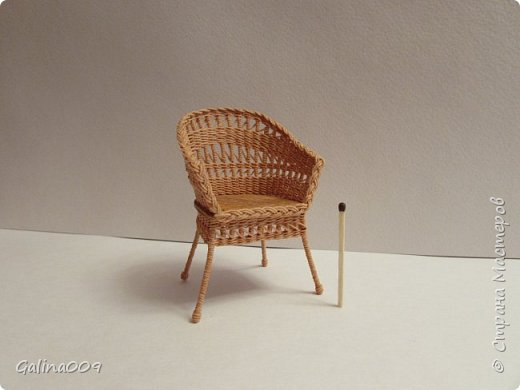 Кресло плетёное. фото 1