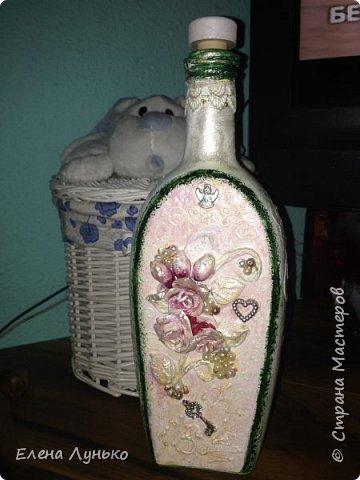 Винтажная бутилка фото 1