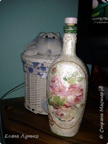 Винтажная бутилка фото 2