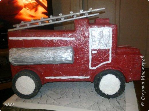 Пожарная машина фото 1