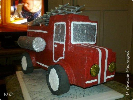 Пожарная машина фото 2