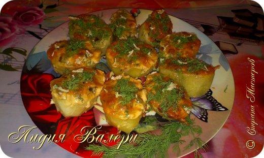 Кулинария Мастер-класс Рецепт кулинарный Картошечка фаршированная грибами +МК Продукты пищевые фото 1